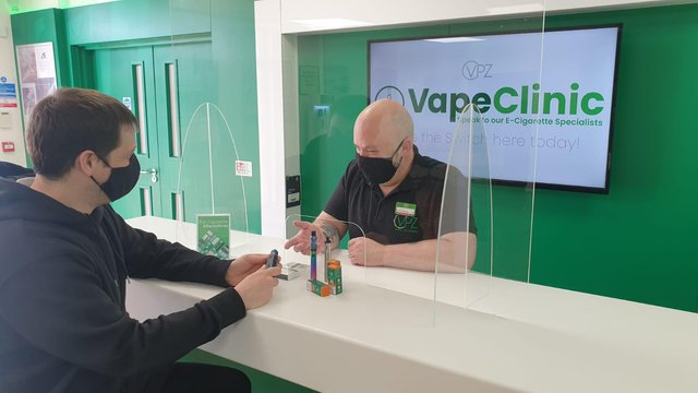 The new Vape Clinic's specially trained vaping experts  will help people stop smoking for good.
