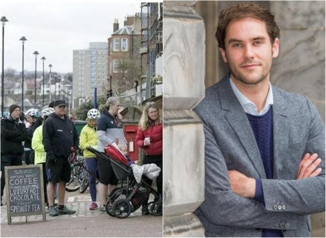 People flocked to beaches and beauty spots, leading to council leader Adam McVey issuing a plea