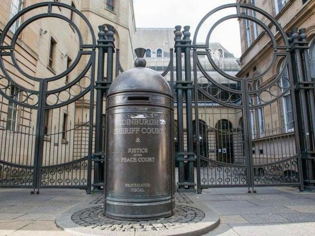 The man appeared at Edinburgh Sheriff Court on Wednesday.