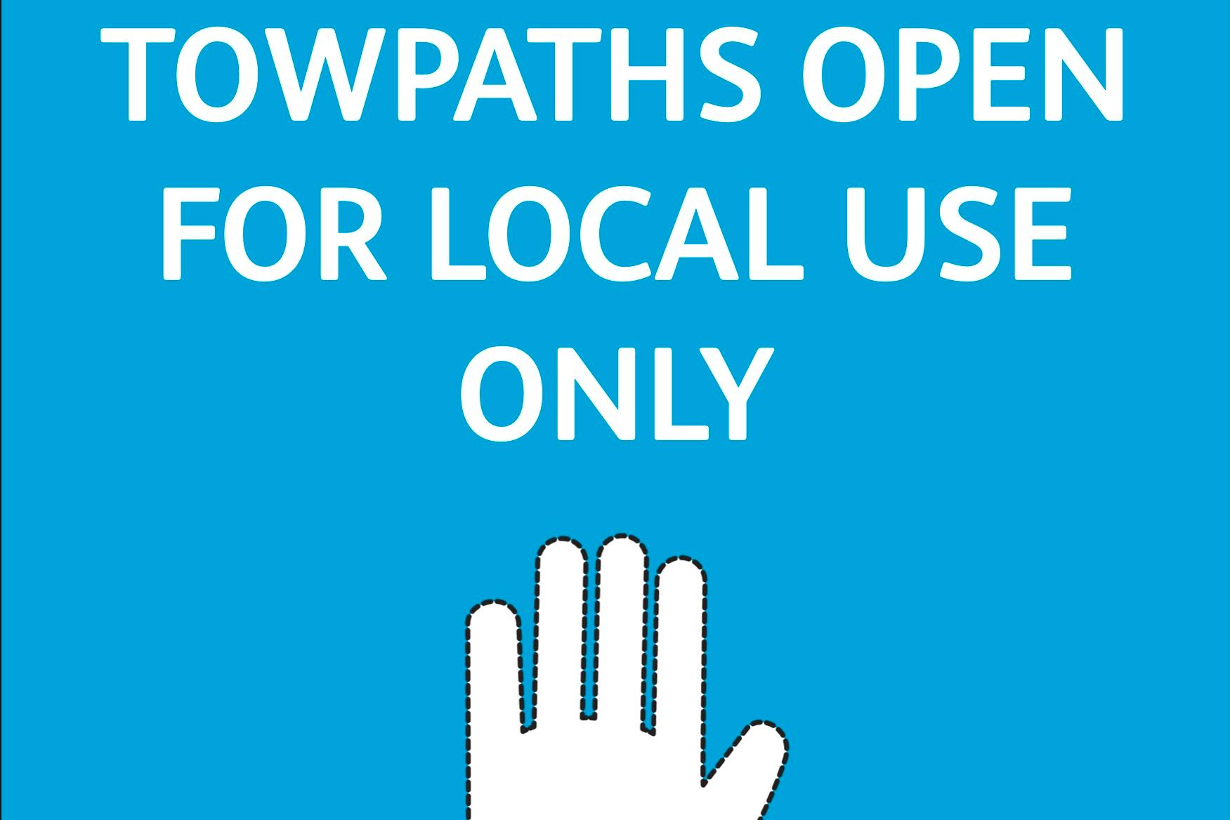Stay away from towpaths - new Scottish Canals campaign