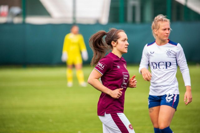 Hearts Women's star Beth McKay. Picture: SNS
