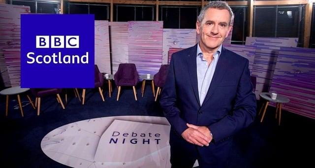 Tonight's BBC Debate Night will feature a virtual audience in and around Edinburgh (Photo: BBC Scotland).