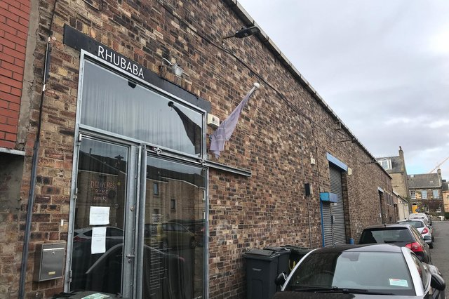 Rhubaba has been based at the warehouse on Arthur Street in Leith since 2010.
