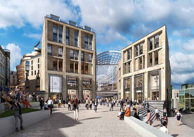 The new redevelopment will replace the old St James Centre (Photo: St James Quarter)