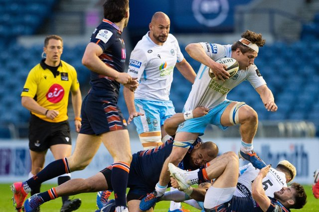 Rory Darge impressed for Glasgow Warriors in the 31-24 win at Murrayfield. Picture: Paul Devlin/SNS