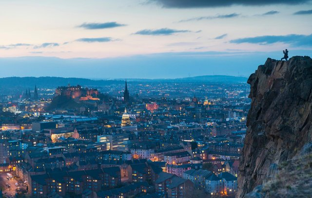 Edinburgh's torism industry has supported around 34,000 jobs in recent years. Picture: Kenny Lam/VisitScotland