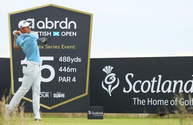 Grant Forrest is handily-placed heading into the final two rounds of the abrdn Scottish Open at The Renaissance Club. Picture: Andrew Redington/Getty Images.