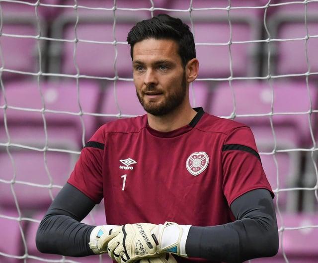 Hearts goalkeeper Craig Gordon is in fine form.