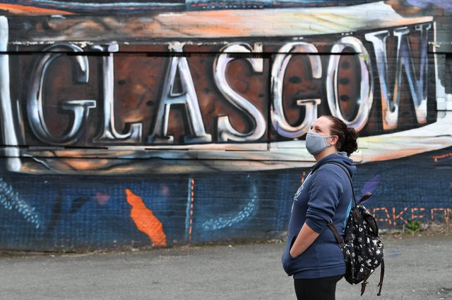 Cases are continuing to rise in Glasgow