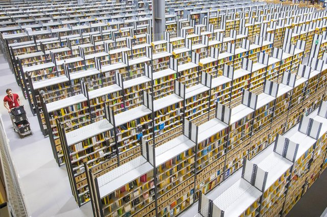 Amazon is facing a watchdog investigation after it emerged unsold items at its Dunfermline warehouse are sent to be processed at a landfill site. Picture: Katielee Arrowsmith/SWNS.