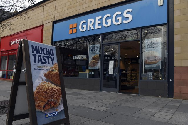 Greggs, which has more than 2,000 outlets across the UK, is due to release its latest results to investors. Picture: Lisa Ferguson