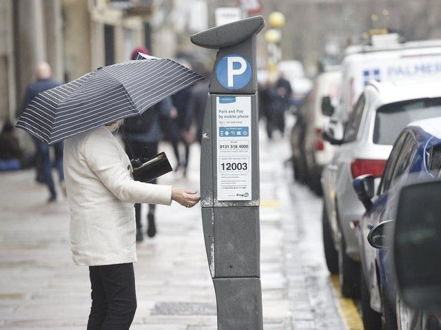 Parking charges will apply on Sundays from April 11 in Edinburgh city centre.