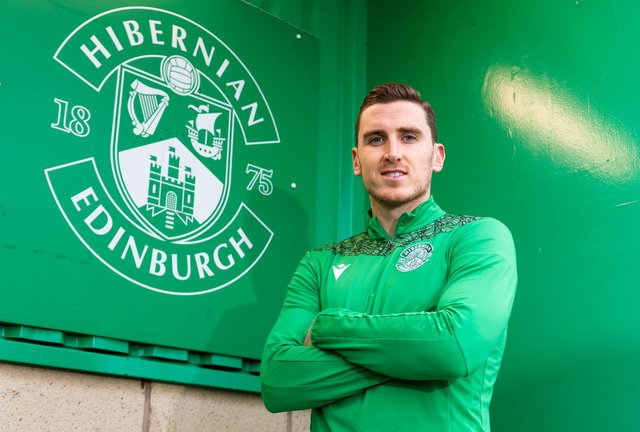 Paul Hanlon says he is ready to embrace Hibs' latest involvement in European football. Photo by Mark Scates / SNS Group