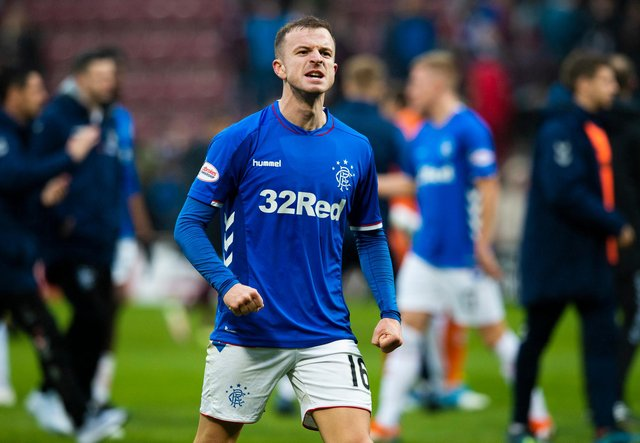 Andy Halliday joins Hearts after five years at Rangers. Picture: SNS