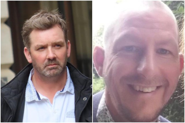 Witness Gary Parks and victim Stuart Elliott pictures: supplied