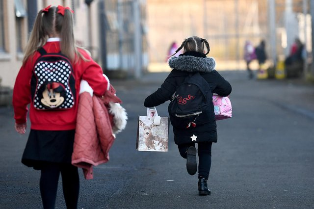 Thousands of children across Scotland have returned to school (Picture: Jeff J Mitchell/Getty Images)