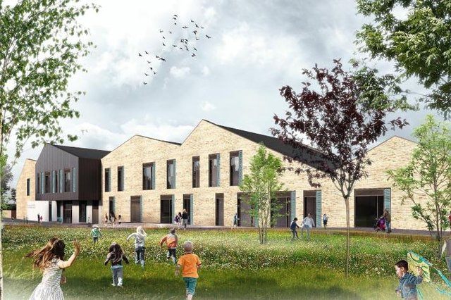 How the new Frogston Primary School will look