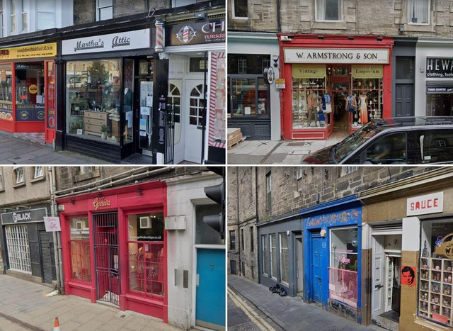 Edinburgh has a wide range of amazing independent shops selling vintage clothing for eco-friendly style..