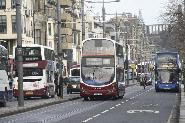 The chamber's manifesto says the city centre is Edinburgh's beating heart    Pic: Greg Macvean