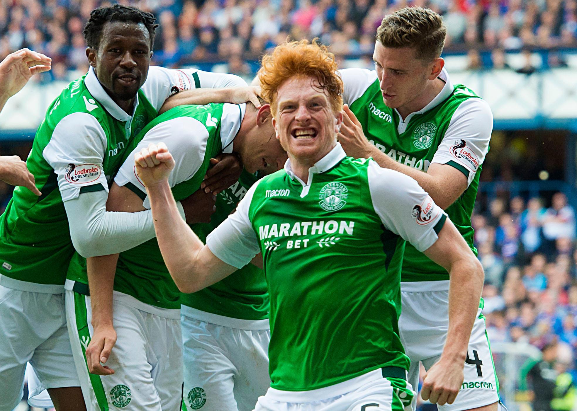 Simon Murray leaves Bidvest Wits as former Hibs striker returns to Scotland