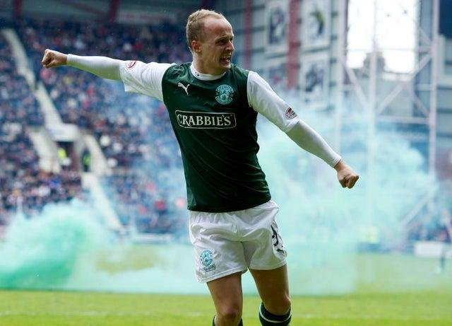 Hibs fans are desperate to see Griffiths return to Easter Road this summer.