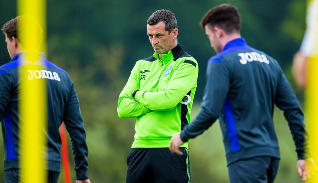 Jack Ross watched his Hibs side go down to a 1-0 friendly defeat to Accrington Stanley.
