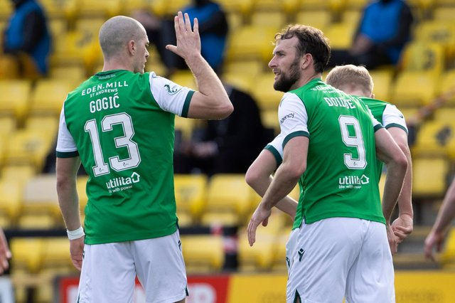 Hibs have learned their post-split fixtures and begin the final round of games with a trip to Ibrox