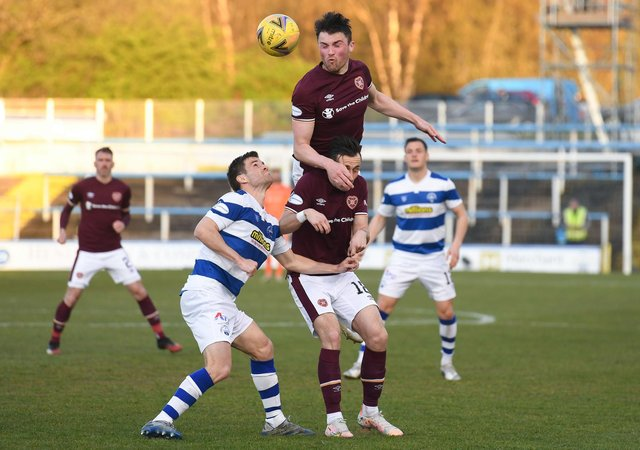 John Souttar can be happy with getting 90 minutes under his belt. Picture: SNS