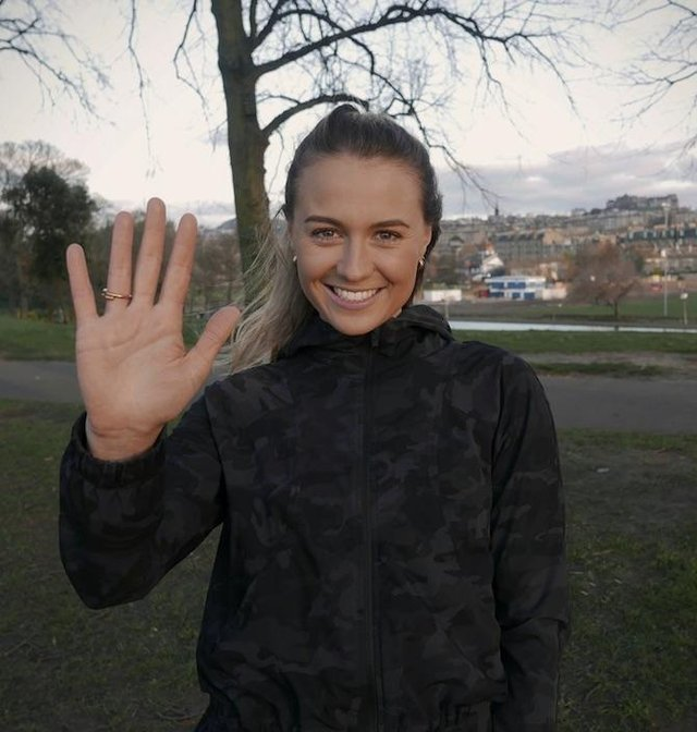 Olivia Strong, founder of Run For Heroes