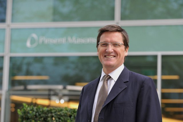 Richard Foley, senior partner at Pinsent Masons: 'For us, success is to fulfil a purpose, and our purpose is to make business work better for people.'