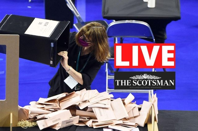 Live updates on the Scottish Parliament election results.