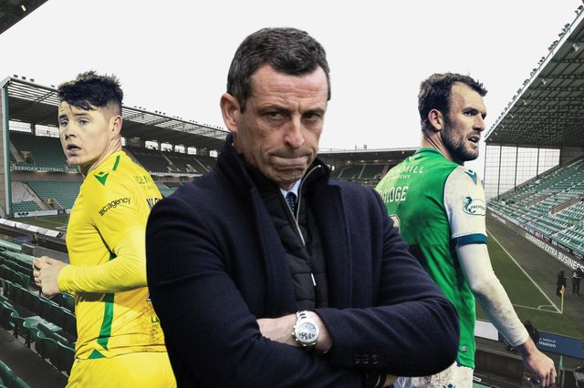Of the 11 goals Hibs have scored in 2021, only one was scored by Kevin Nisbet or Christian Doidge. So how can Jack Ross get his strikers firing once more?