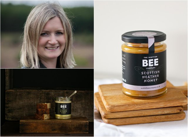 The Scottish Bee Company was founded by Iain and Suzie Millar in 2017. Pic: Supplied