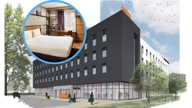 The new 251-bedroom hotel at Edinburgh Airport is expected to open at the beginning of 2023 (Photo: Accor).