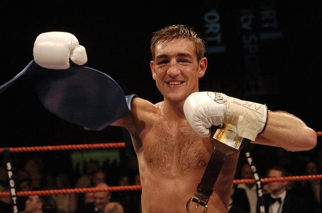 PIC: KATE CHANDLER / SPORT Winner: Alex Arthur at Meadowbank Stadium in 2006