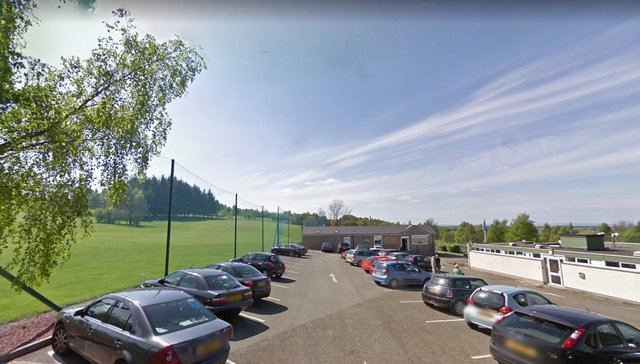 Thousands of pounds worth of damage caused at Linlithgow Golf Club picture: Google maps