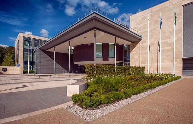 Council headquarters at the West Lothian Civic Centre in Livingston