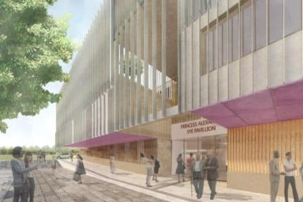 More than £1m was spent planning the new hospital
