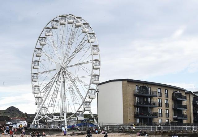 The Portobello wheel could become a summer fixture on the Edinburgh coast