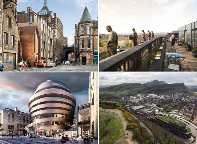 These hotel developments in Edinburgh are set to offer hundreds more rooms with a range of facilities to visitors.