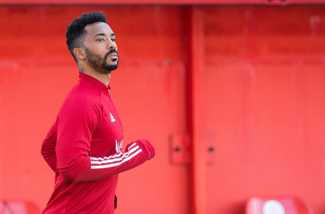 Shay Logan could be set for a debut this weekend at Dunfermline Athletic. Picture: SNS