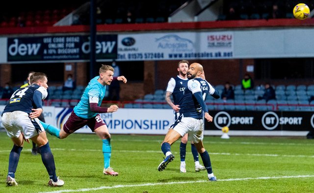 Hearts and Dundee have served up two entertaining games so far this season. Picture: SNS