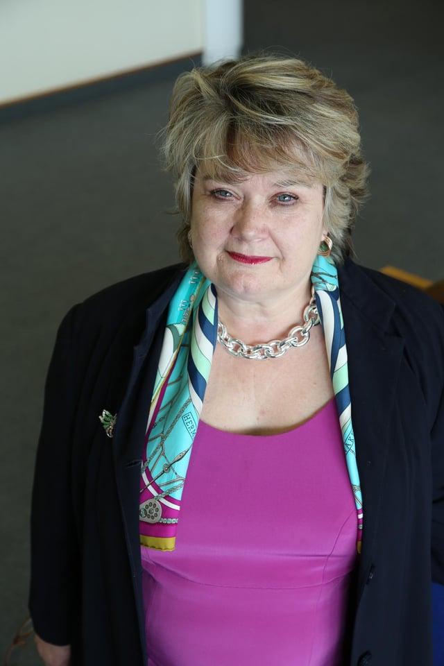 Professor Heather McGregor, Executive Dean of the Edinburgh Business School at Heriot Watt University.