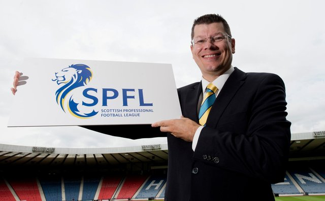 """SPFL Chief Executive Neil Doncaster says it is """"absolutely imperative"""" the league starts in August. Picture: SNS"""