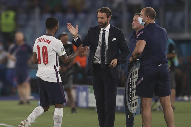 Gareth Southgate's team is easier to support than previous English national sides, says Angus Robertson (Picture: Lars Baron/pool photograph via AP)