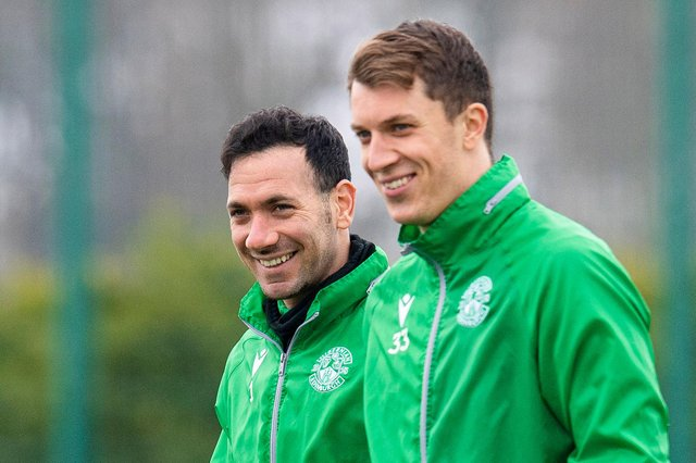Hibs have two strong goalkeepers in Ofir Marciano and Matt Macey.