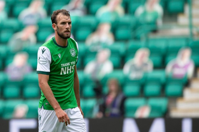 Hibs could be without Christian Doidge for the start of the 2021/22 campaign