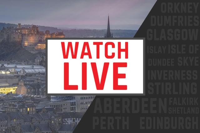 Watch a live stream of Nicola Sturgeon's statement to parliament