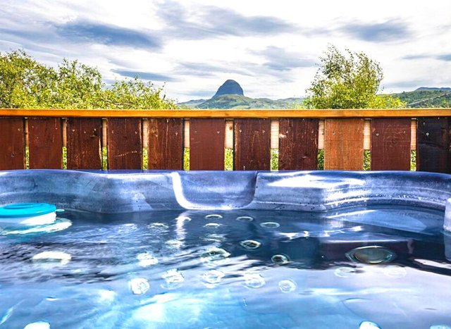 Stunning hot tub lodges you can stay at in Scotland