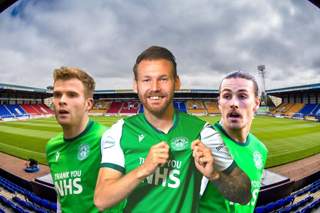 Hibs are in Perth today to face St Johnstone